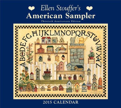 9781449453213: Ellen Stouffer's American Sampler Calendar