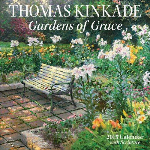 Thomas Kinkade Gardens of Grace With Scripture: AMP