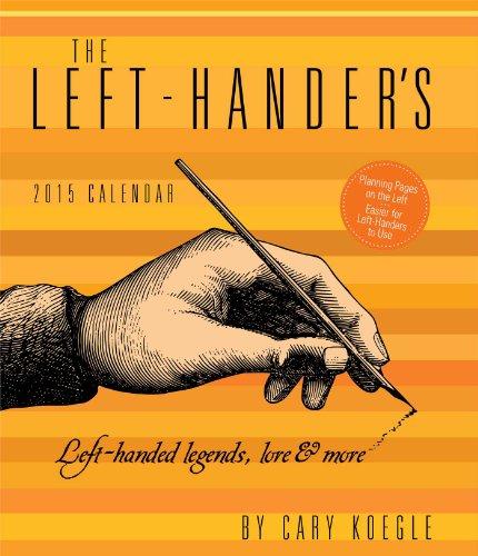 9781449456825: Left-Hander's 2015 Desk Diary