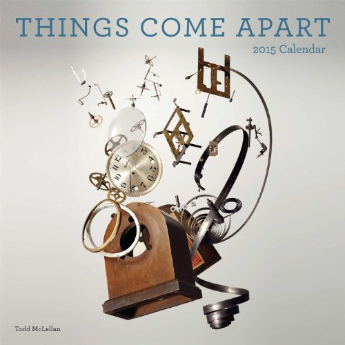 9781449456849: Things Come Apart 2015 Wall Calendar