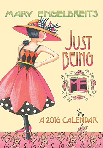 9781449461737: Mary Engelbreit 2016 Monthly Pocket Planner: Just Being ME!-