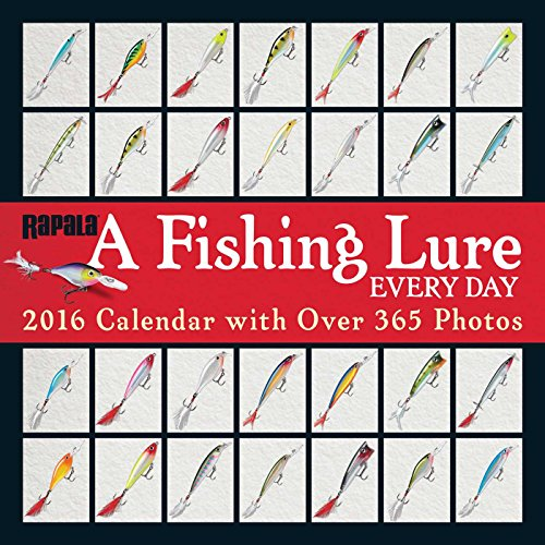 9781449465254: A Fishing Lure Every Day 2016 Wall Calendar: with Over 365 Photos