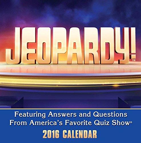 9781449465346: Jeopardy! 2016 Day-to-Day Calendar