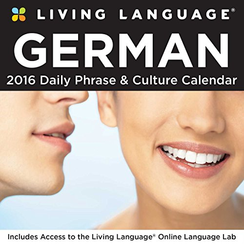 9781449465414: Living Language: German 2016 Day-to-Day Calendar