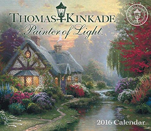 9781449466213: Thomas Kinkade Painter of Light 2016 Day-to-Day Calendar
