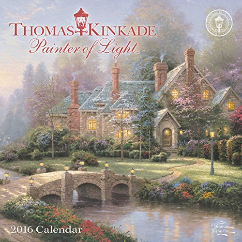 9781449466343: Thomas Kinkade Painter of Light 2016 Mini Wall Calendar