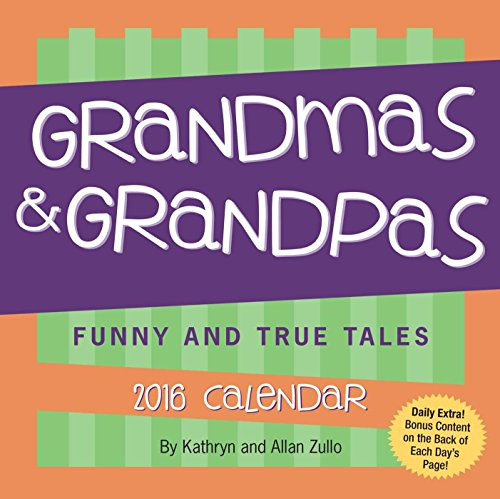 9781449466787: Grandmas & Grandpas 2016 Day-To-Day Calendar