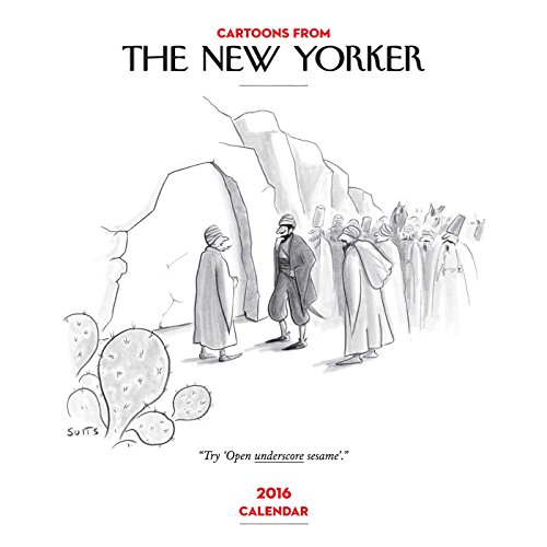 9781449468682: Cartoons from The New Yorker 2016 Wall Calendar