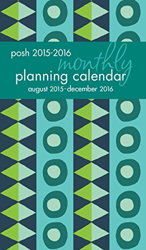 9781449469030: Posh: Geo Tribe 2015-2016 Monthly Pocket Planning Calendar