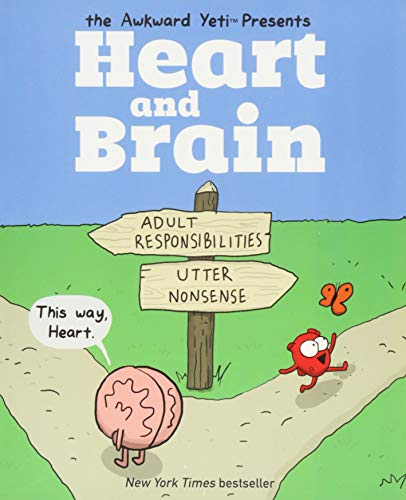 9781449470890: Heart and Brain: an awkward Yeti collection