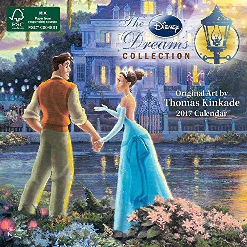 9781449476205: Thomas Kinkade Disney Dreams 2017 Mini (Mini Wall)