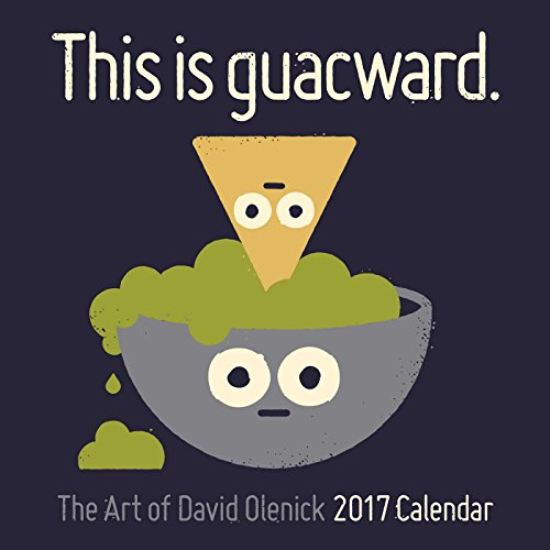 The Art of David Olenick 2017 Wall Square Wall Calendar