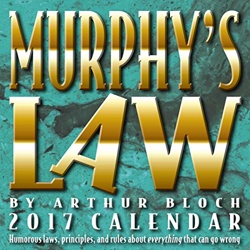 9781449477073: Murphy's Law 2017 Day-To-Day Calendar