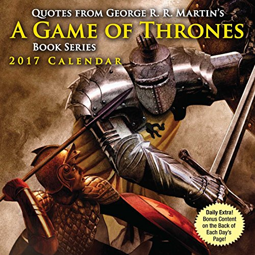 9781449477172: Quotes from George R.R. Martin's A Game of Thrones Book Series 2017 Day-to-Day C