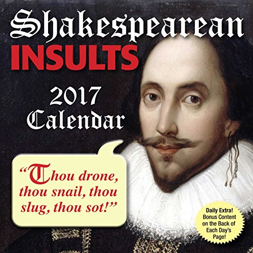 9781449477226: Shakespearean Insults Day-To-Day Calendar