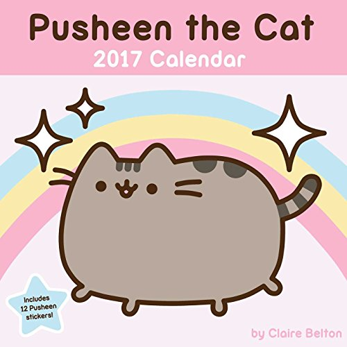 Captivating Pusheen The Cat 2017 Wall Calendar: Belton, Claire