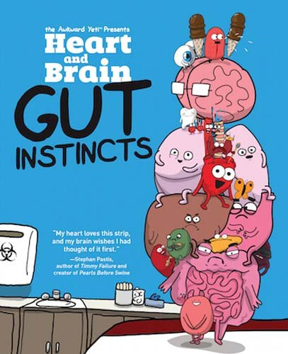 9781449479787: Heart and Brain: Gut Instincts: An Awkward Yeti Collection