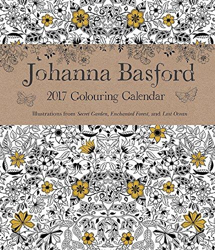 9781449479817: Johanna Basford 2016 2017 16M Colour Wk