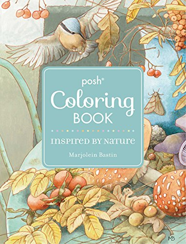 9781449486402: Inspired by Nature Posh Coloring Book