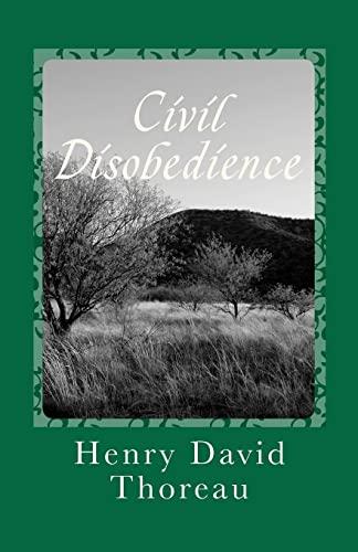 9781449518585: Civil Disobedience