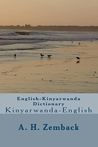 English-Kinyarwanda Dictionary: Kinyarwanda-English (Kinyarwanda and English Edition): Zemback, A. H.