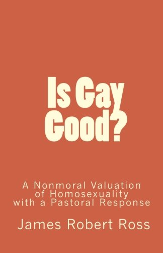 9781449534301: Is Gay Good?: A Study of the Nonmoral Value of Homosexuality