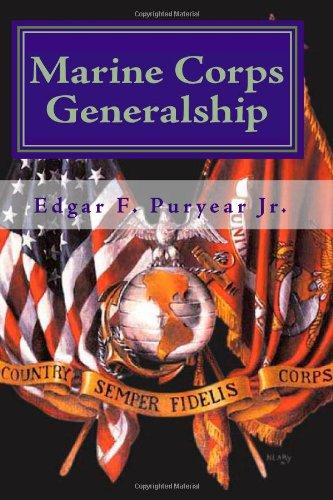 9781449562540: Marine Corps Generalship