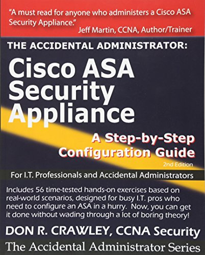 9781449596620: The Accidental Administrator: Cisco ASA Security Appliance: A Step-by-Step Configuration Guide: Volume 1