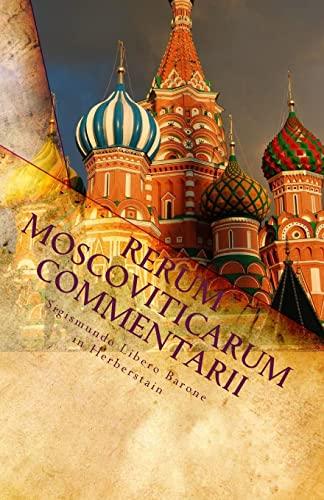9781449597030: Rerum Moscoviticarum Commentarii