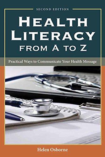 Health Literacy from A to Z: Osborne, M. Ed; Osborne, Helen