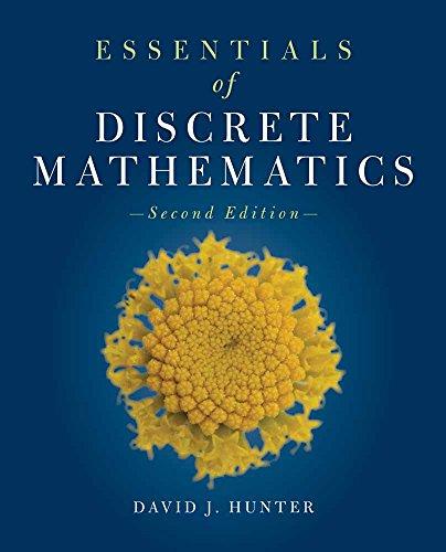 9781449604424: Essentials Of Discrete Mathematics (The Jones & Bartlett Learning Inernational Series in Mathematics)