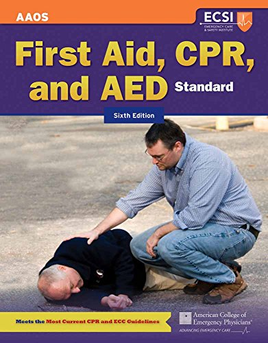 Standard First Aid, CPR, And AED: American Academy of