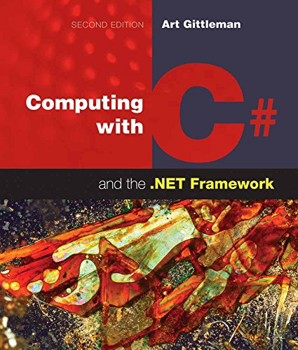 9781449615505: Computing With C# & The .net Framework