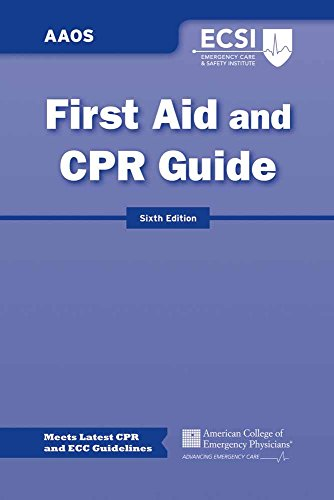 First Aid and CPR Guide (30 Pack): American Academy of Orthopaedic Surgeons (AAOS)