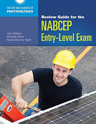 9781449624651: Review Guide for the NABCEP Entry-Level Exam (Art and Science of Photovoltaics)