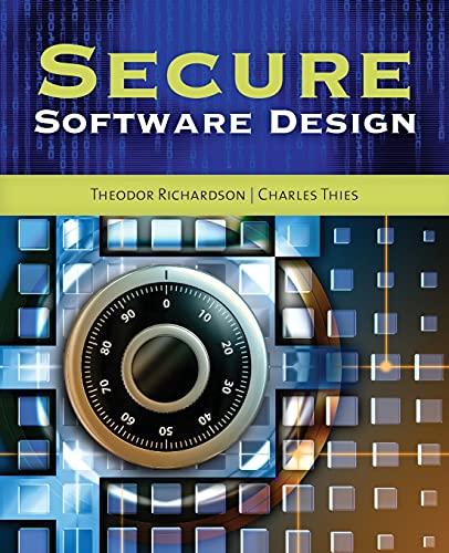 9781449626327: Secure Software Design