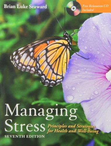 9781449640576: Managing Stress: Principles and Strategies for Health and Well-Being (W/ CD) + Art of Peace and Relaxation Workbook Pkg