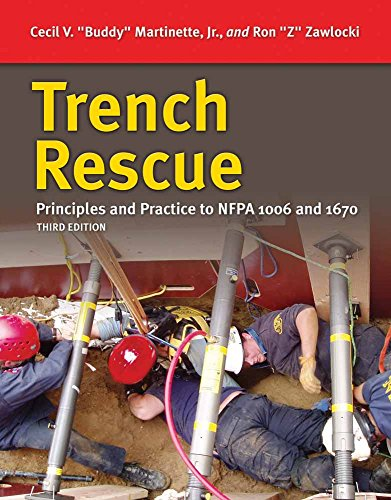 Trench Rescue, Levels I and II Principles: Martinette, Cecil V.