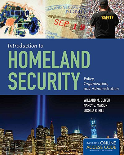 9781449645441: Introduction to Homeland Security: Policy, Organization, and Administration