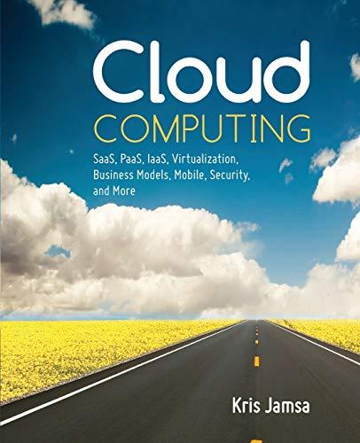 Cloud Computing: Dr. Kris Jamsa
