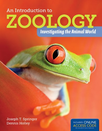 9781449648916: An Introduction to Zoology: Investigating the Animal World