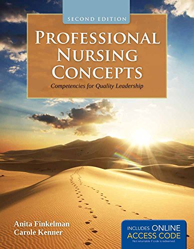 9781449649029: Professional Nursing Concepts with Access Code: Competencies for Quality Leadership