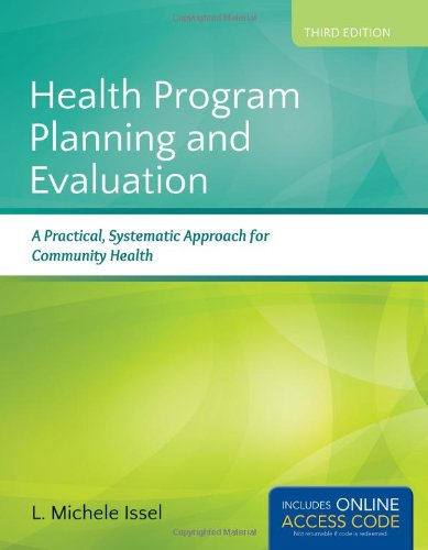 9781449649197: Health Program Planning and Evaluation: A Practical, Systematic Approach for Community Health