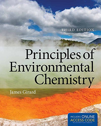 9781449650155: Principles Of Environmental Chemistry