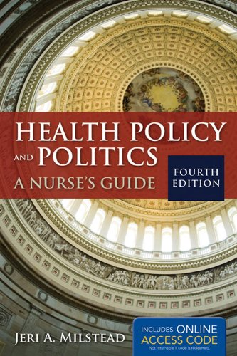 9781449665098: Health Policy And Politics: A Nurse's Guide (Milstead, Health Policy and Politics)