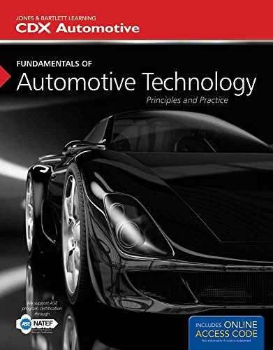 9781449671082: Fundamentals of Automotive Technology: Principles and Practice