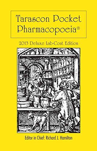 Tarascon Pocket Pharmacopoeia 2013 Deluxe Lab-Coat Edition: Richard Hamilton