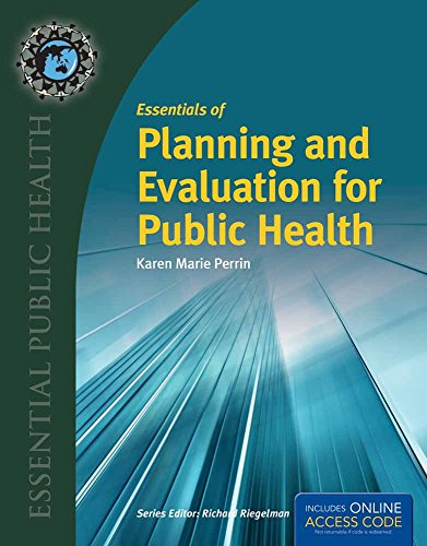 9781449674342: Essentials of Planning and Evaluation for Public Health