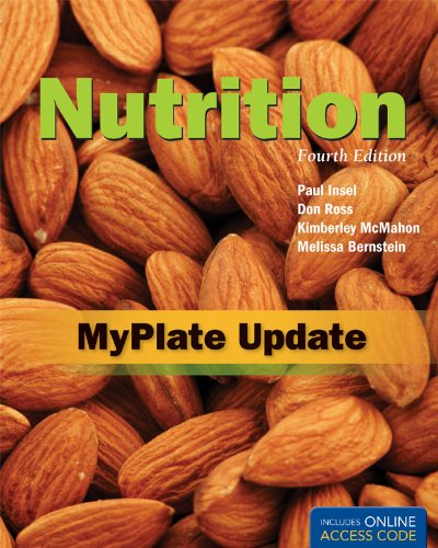 Nutrition 9781449675226 Nutrition, Fourth Edition is an up-to-date, accessible introduction to nutritional concepts, guidelines, and functions. This text provides students with accurate, scientifically based information on topics and issues that concern them―a balanced diet, weight management, and more―and encourages them to think about the material they're reading and how it relates to their own lives. The MyPlate Update integrates the latest nutritional standards – the new Dietary Reference Intakes, the 2010 Dietary Guidelines, and MyPlate (which replaces the former MyPyramid) – right within the book, providing instructors and students with the most current information available.