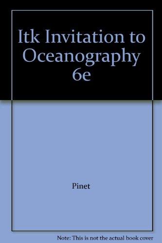 ITK INVITATION TO OCEANOGRAPHY 6E: Pinet